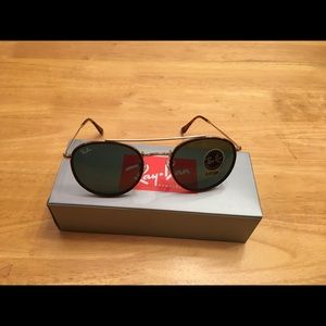 Ray-Ban Accessories - Ray Ban Black Gold Sunglasses 51-22-145